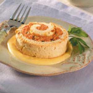 Biscuit Ham Spirals Recipe
