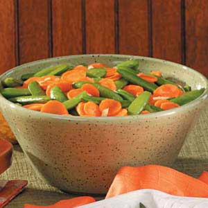 Glazed Carrot and Peas Recipe