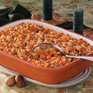Macaroon Sweet Potato Bake Recipe