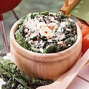 Dutch Spinach Salad Recipe