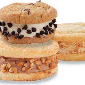 Homemade Vanilla and Chocolate Ice Cream Sandwiches Recipe