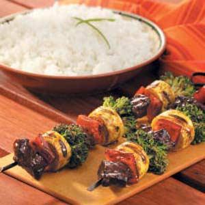 Beef Stir-Fry on a Stick Recipe