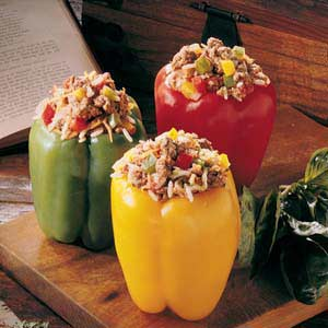 Summer Stuffed Peppers Recipe
