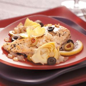 Zesty Chicken with Artichokes Recipe