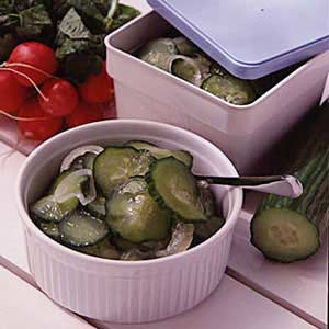 Frozen Cucumber Salad Recipe