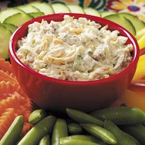 Dilly Zucchini Dip Recipe