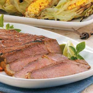 Grilled Marinated Sirloin Recipe