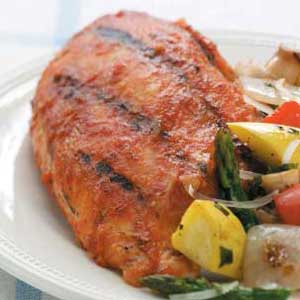 Barbecued Chicken Breasts Recipe
