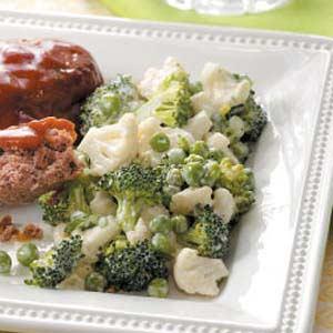Creamy Veggie Salad Recipe