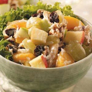 Yogurt Fruit Salad Recipe