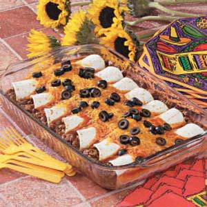 Hearty Beef and Cheese Enchiladas Recipe