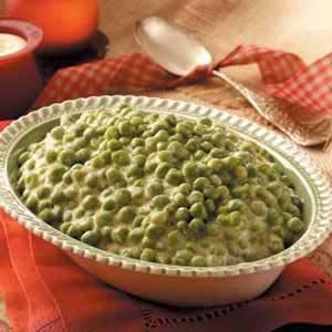 Peas in Cheese Sauce Recipe