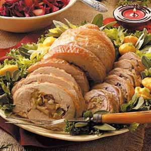 Rolled-Up Turkey Recipe