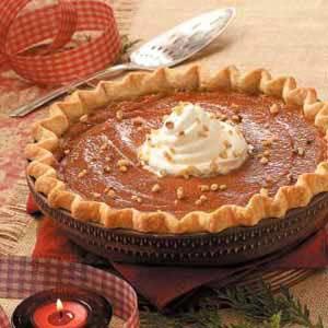 Caramel-Crunch Pumpkin Pie Recipe