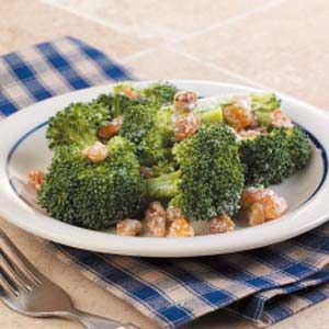 Broccoli Walnut Salad Recipe