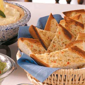 Herbed Bread Slices Recipe
