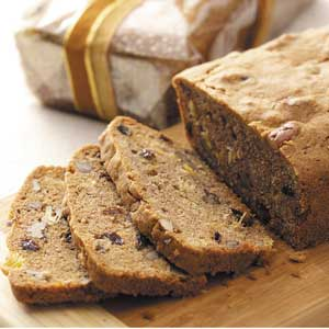 Pineapple-Raisin Nut Bread Recipe