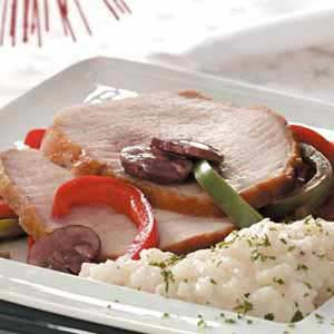 Pork Loin with Peppers Recipe
