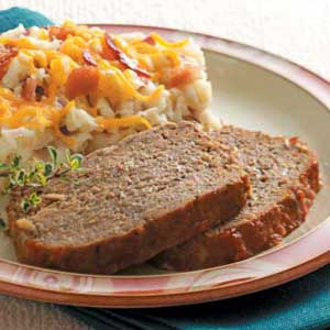 Chili Sauce Meat Loaf