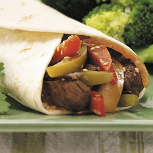 Asian Steak Wraps Recipe
