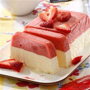 Strawberry Sorbet Sensation Recipe Taste Of Home