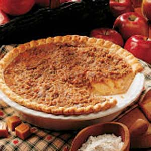 Caramel Crunch Apple Pie Recipe