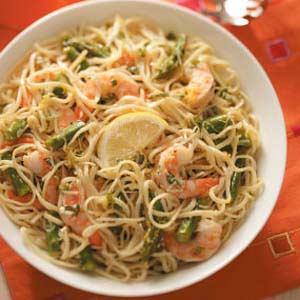 Lemon-Linguine Shrimp Salad Recipe