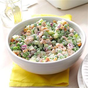 Pea 'n' Peanut Salad Recipe