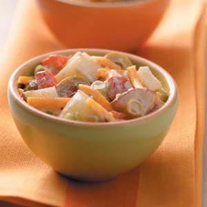 Microwave Potato Salad Recipe