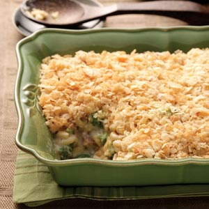 Ham Broccoli Bake Recipe