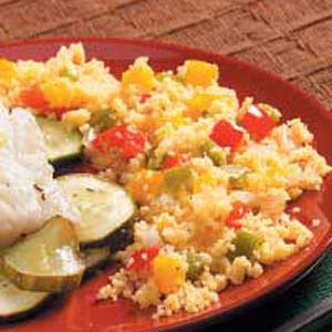 Peppered Couscous Recipe