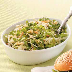 Sesame Almond Slaw Recipe