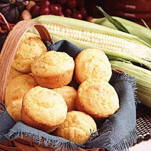 Cornmeal Muffins Recipe