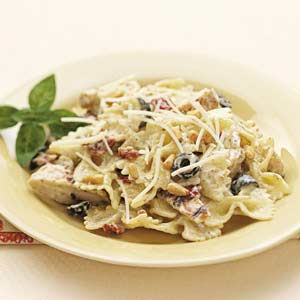 Favorite chicken pasta recipe taste of home favorite chicken pasta recipe forumfinder Images