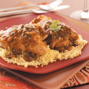 Moroccan Chicken Thighs Recipe