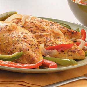Grilled Chicken and Veggies Recipe