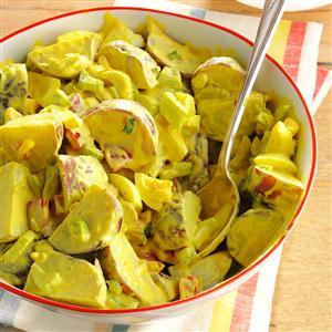 Honey-Mustard Potato Salad Recipe