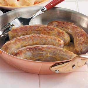 German Bratwurst Recipe