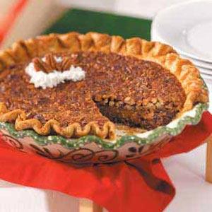 Kentucky Chocolate Pecan Pie
