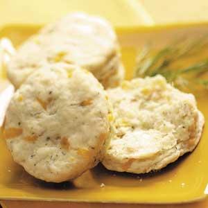 Cheddar Dill Biscuits Recipe