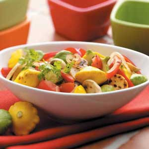 Pattypan Saute Recipe
