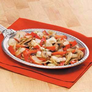Three-Veggie Skillet Recipe