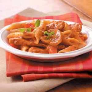 Pork 'n' Penne Skillet Recipe