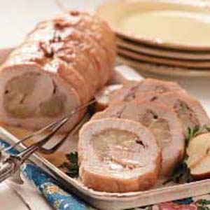 Pear 'n' Prosciutto Pork Loin Recipe