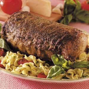 Pesto Pork Roast Recipe