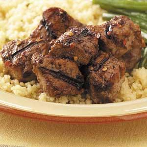 Spicy Pork Tenderloin Skewers Recipe