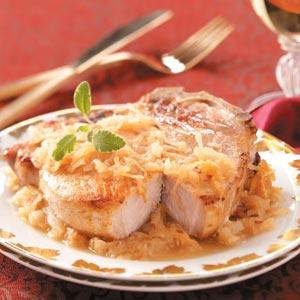 German Pork Chops Recipe