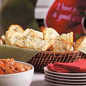 Garlic Bread with Herbs Recipe
