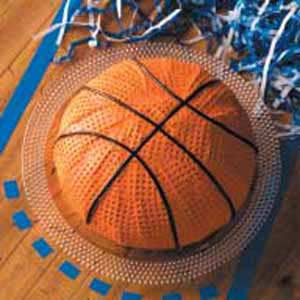 Basketball Cake Recipe Taste of Home