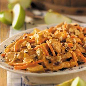 Pork with Apples 'n' Hazelnuts Recipe